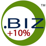 10% increase on .biz domains