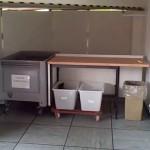 Dedicated Build Room Unpacking Area