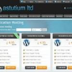 Astutium Website WordPress Hosting Screenshot