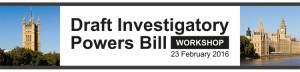 LINX Investigatory Powers Bill (IPB) Workshop Banner