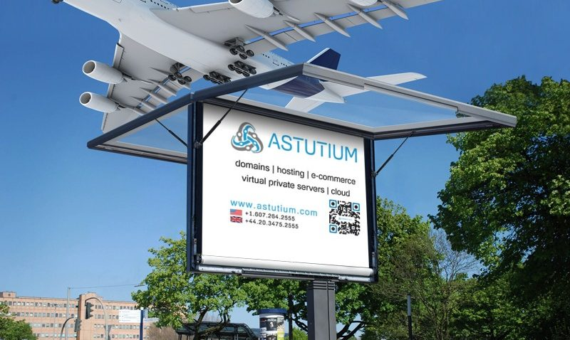 Airplane Overhead Astutium Banner