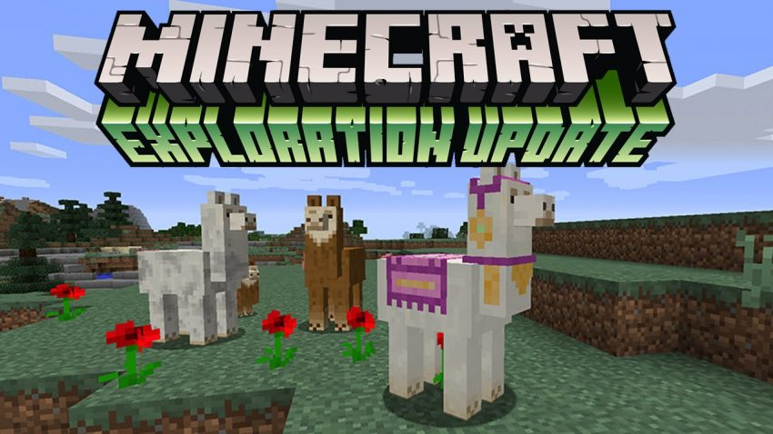Minecraft Explorer Update - with added LLamaness